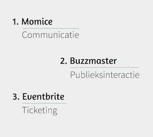 Een top 3 van event management tools
