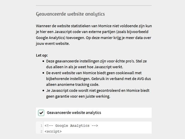 Momice_Updates_Zomer_2019_Google_Analytics_1_NL