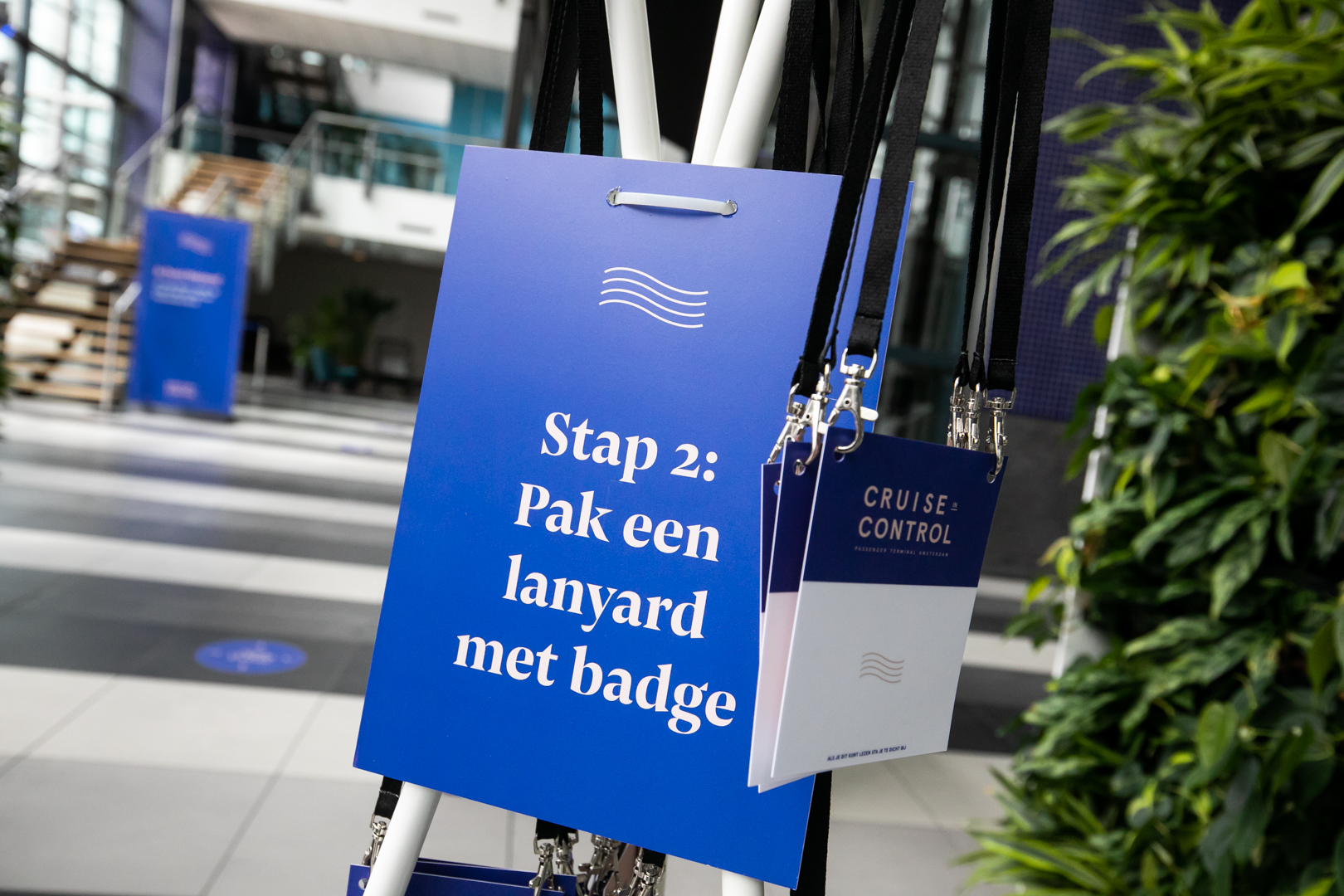 Check-in: lanyard
