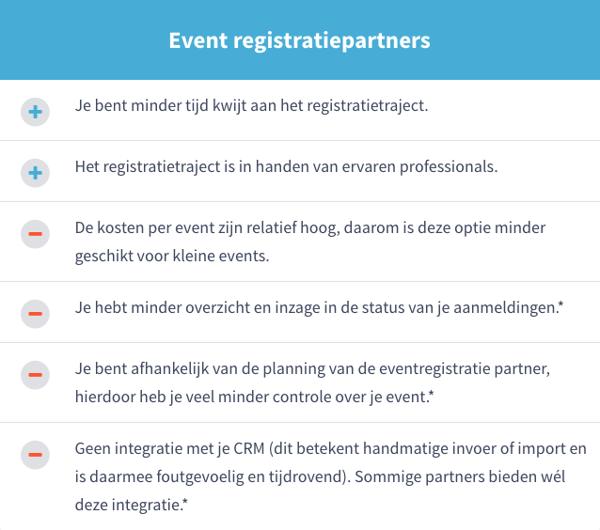 event_registratiepartners_voordelen_nadelen