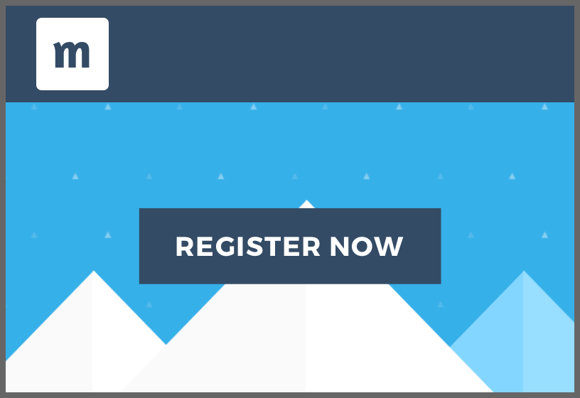 Event website template Graphic