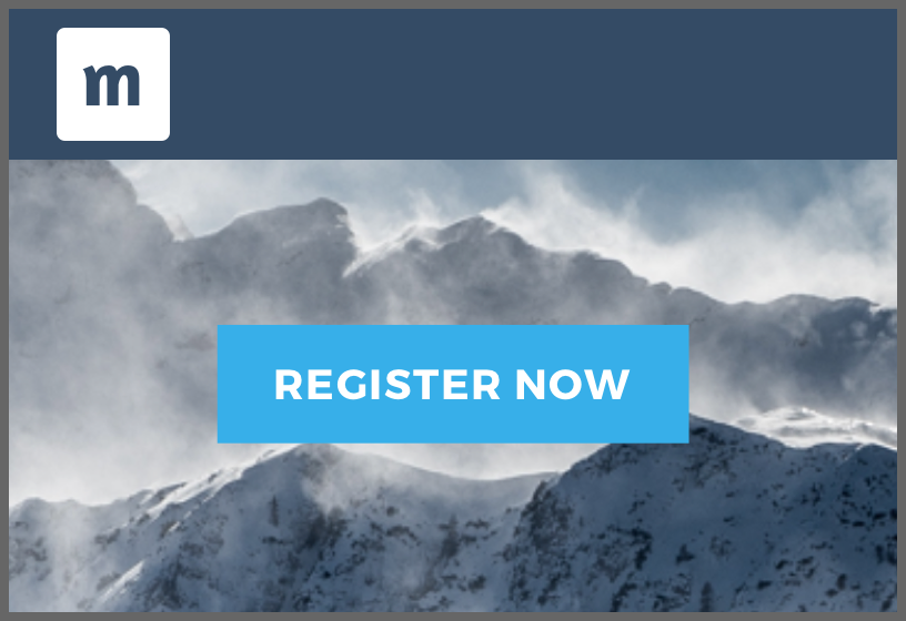 Event website template Arctic