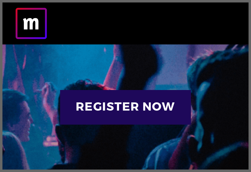 Event website template Festive