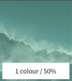 Afbeelding kleurverloop 50%