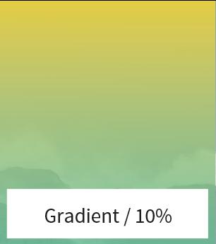 Verloop afbeelding kleur 10%