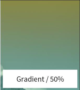 Afbeelding gradient voor je website 50%