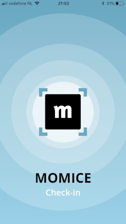 Download the Momice event check-in app now
